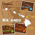 """ハワイアンカッティングステッカー""""Ha`aheo O Hawai`i-B"""""""