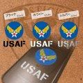 USAF アメリカ空軍マーク ミニステッカー