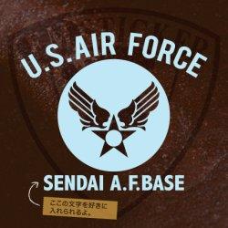 画像1: U.S.AIR FORCE オリジナル文字入れステッカー