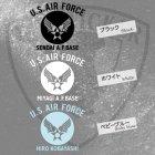 他の写真1: U.S.AIR FORCE オリジナル文字入れステッカー