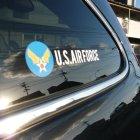 他の写真1: U.S.AIR FORCE アメリカ空軍マーク ステッカー