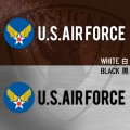 U.S.AIR FORCE アメリカ空軍マーク ステッカー